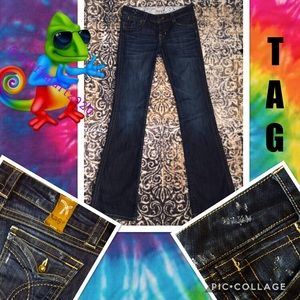 """TAG NWOT WOMENS JEANS FLARE SIZE 1/W25""""XL32"""""""